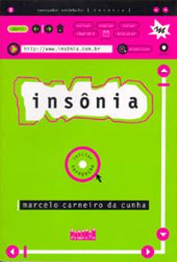 Capa do Livro Insônia, de Marcelo Carneiro da Cunha