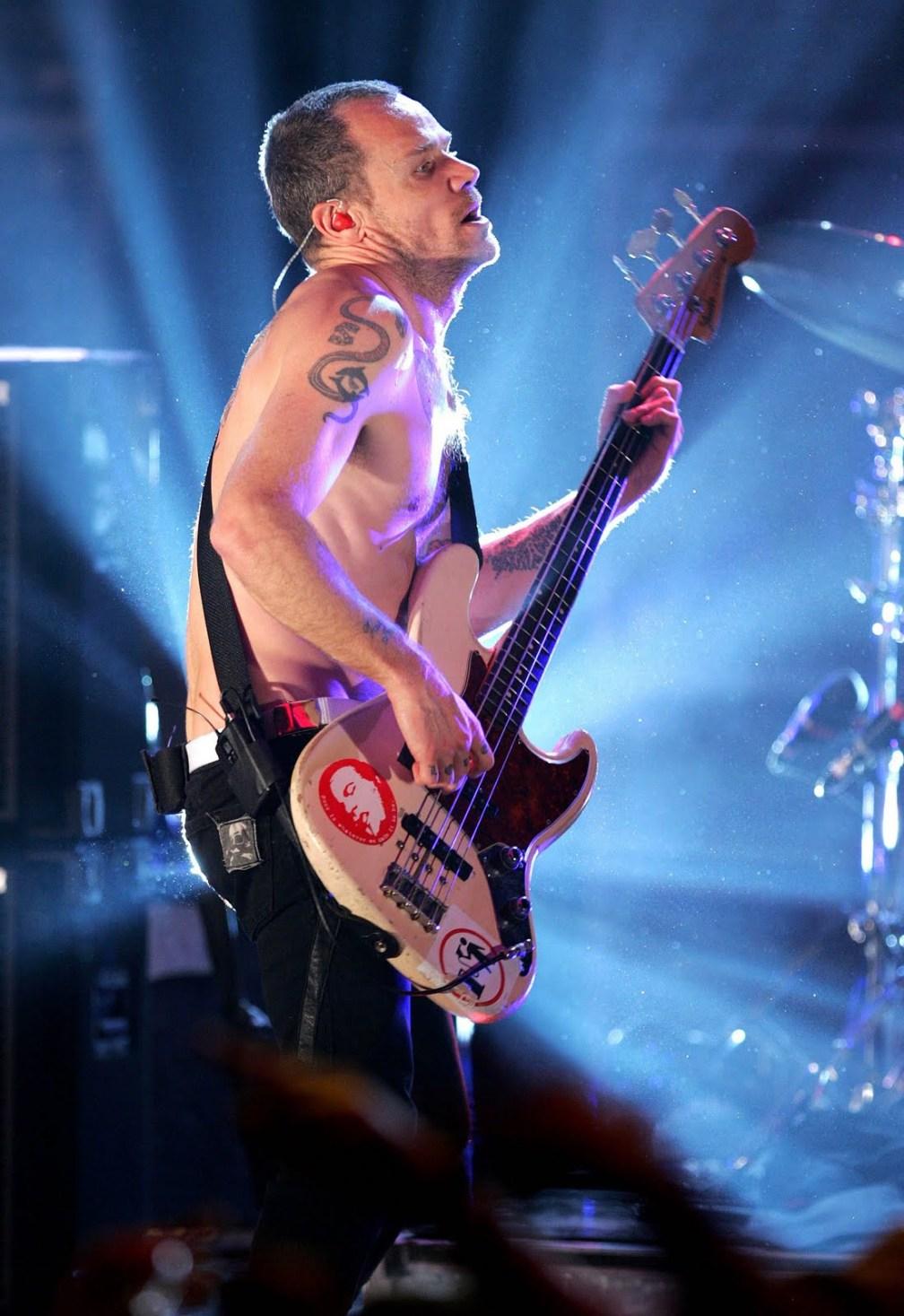 Flea, baixista do RHCP